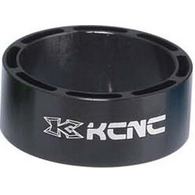 "KCNC Hollow Design Headset Spacer 1 1/8"" 10mm, black"